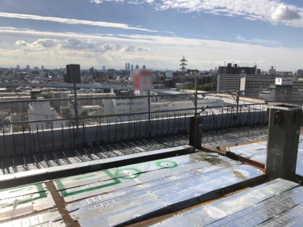 平成29年大阪デッキプレート工事